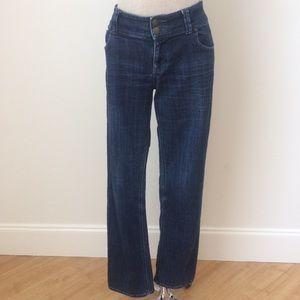 2 Button Blue Jean